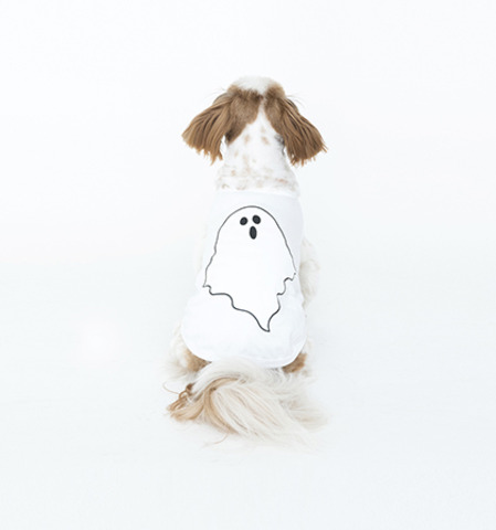 Ghost Sleeveless(White)