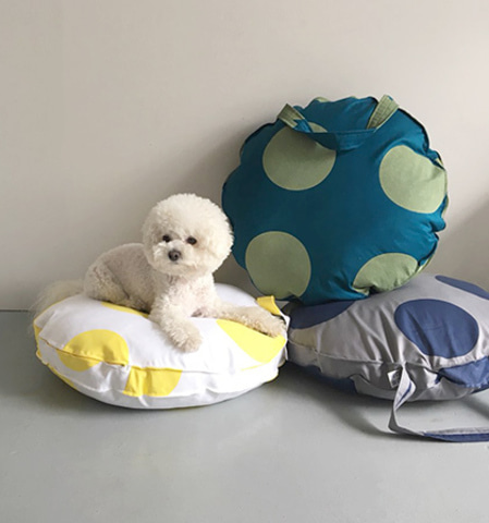 Tambourine Cushion(Cover)