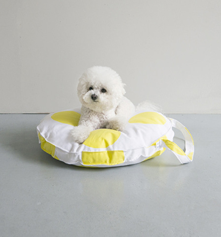 Tambourine Cushion(Yellow)
