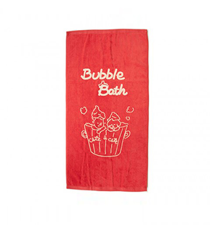 Bath Towel(Red)