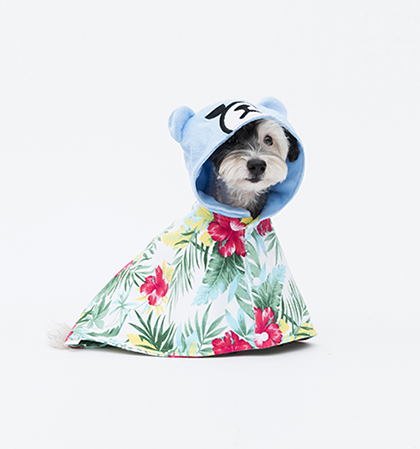 Krunk Bathrobe(Hawaiian)